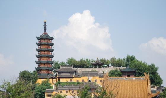 扬州瘦西湖,大明寺,镇江金山寺