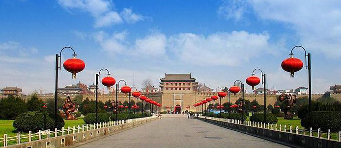 西安旅游图片大全_西安旅游景点图片忆长安最古城旅游图片