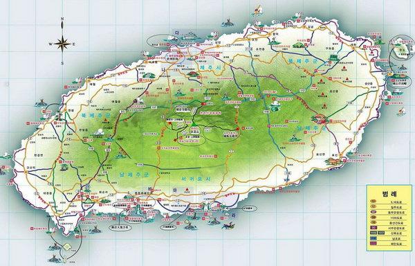 首尔旅游地图中文版