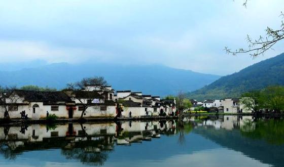 古徽州西递 屏山村 卢村木雕楼二日游图片